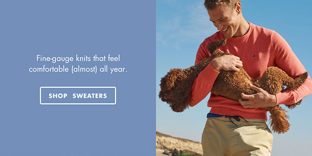 Fine-gauge knits that feel comfortable (almost) all year - SHOP SWEATERS