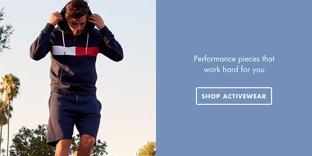 Performance pieces that work hard for you - SHOP ACTIVEWEAR