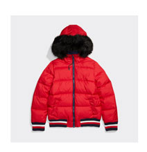 Hooded Fur Puffer - Shop Now